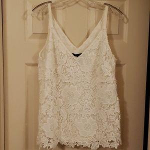 Gorgeous lined lace cami sz S